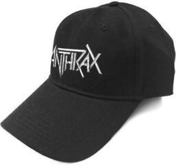 Anthrax Unisex Baseball Cap Logo (Sonic Silver)