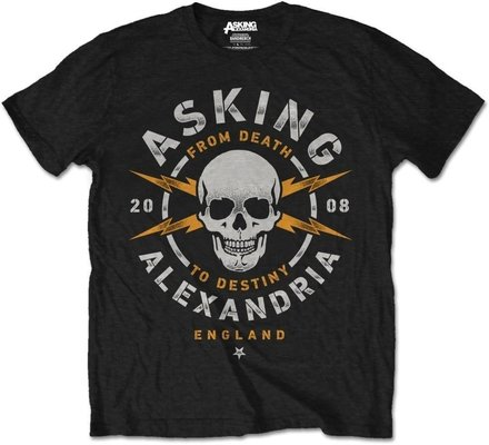 Asking Alexandria Unisex Tee Danger XL