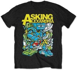 Asking Alexandria Unisex Tee Killer Robot Black