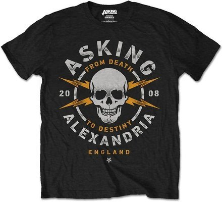 Asking Alexandria Unisex Tee Danger (Retail Pack) L