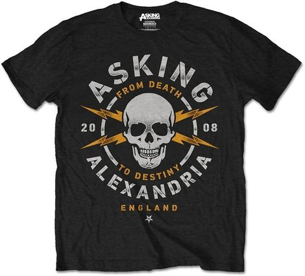 Asking Alexandria Unisex Tee Danger (Retail Pack) XXL