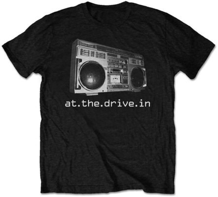 At The Drive-In Unisex Tee Boombox (Retail Pack) L
