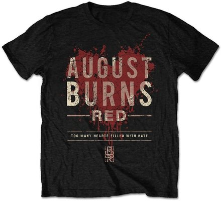 August Burns Red Unisex Tee Hearts Filled S