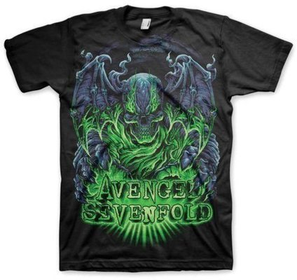 Avenged Sevenfold Unisex Tee Dare to Die L