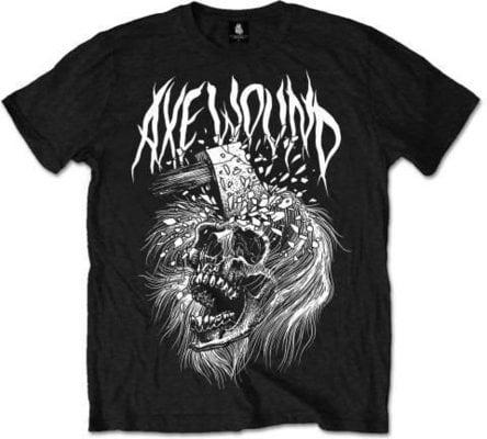 AxeWound Skull Hudební tričko
