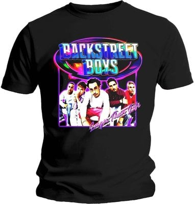 Backstreet Boys Unisex Tee Larger Than Life XL