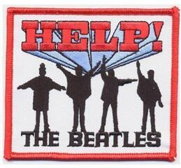 Rock Off The Beatles Standard Patch Help! (Iron On)