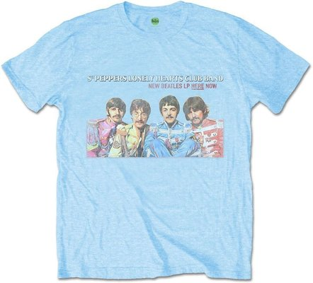 The Beatles Unisex Tee LP Here Now L