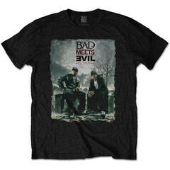 Bad Meets Evil Unisex Tee Burnt Black