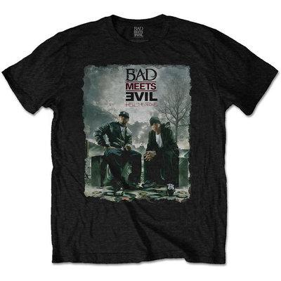 Bad Meets Evil Unisex Tee Burnt L