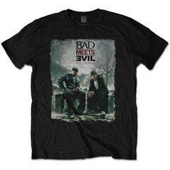 Bad Meets Evil Unisex Tee Burnt Black