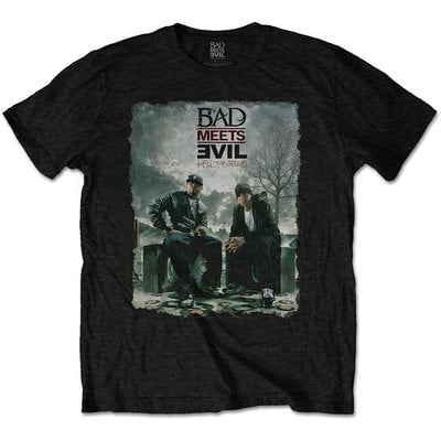 Bad Meets Evil Unisex Tee Burnt S