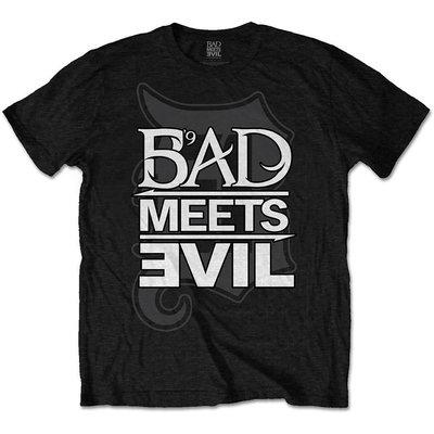 Bad Meets Evil Unisex Tee Logo L