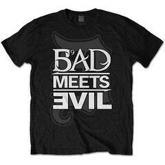 Bad Meets Evil Unisex Tee Logo Black