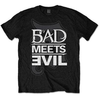 Bad Meets Evil Unisex Tee Logo S