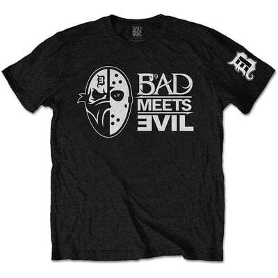 Bad Meets Evil Unisex Tee Masks L