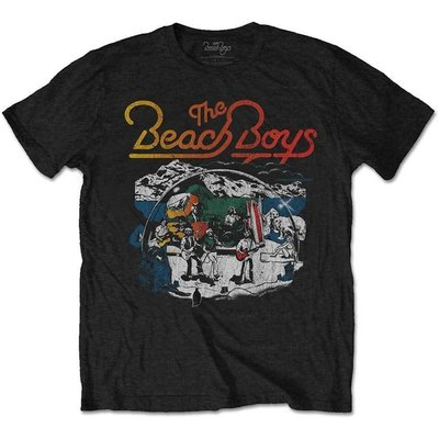 The Beach Boys Unisex Tee Live Drawing M