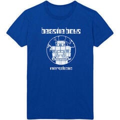Beastie Boys The Beastie Boys Unisex Tee Intergalactic Blue