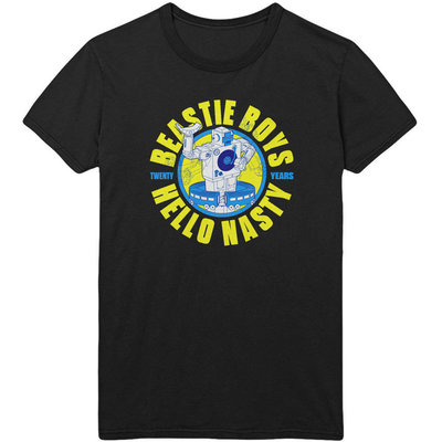 Beastie Boys Unisex Tee Nasty 20 Years L