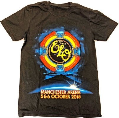 Electric Light Orchestra Unisex Tee Manchester Event (Ex. Tour) M