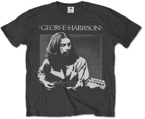 George Harrison Unisex Tee Live Portrait L