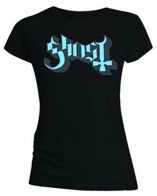 Ghost Keyline Logo T-Shirt Blue/Grey M