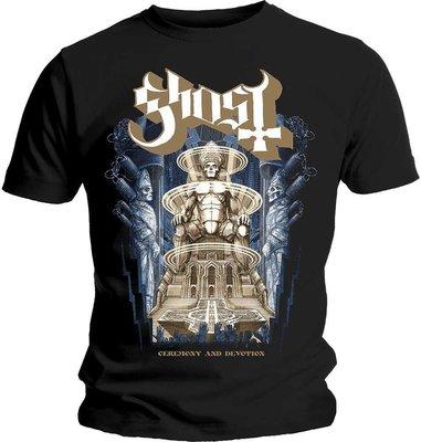 Ghost Unisex Tee Ceremony & Devotion S