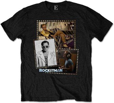 Elton John Unisex Tee Rocketman Montage S