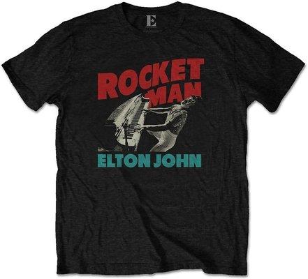 Elton John Unisex Tee Rocketman Piano XL