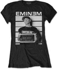 Eminem Ladies Tee Arrest Black