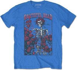Grateful Dead Unisex Tee Bertha & Logo Blue