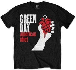 Green Day Unisex Tee American Idiot Black
