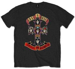 Guns N' Roses Unisex Tee Appetite for Destruction Black