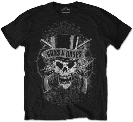 Guns N' Roses Unisex Tee Faded Skull S