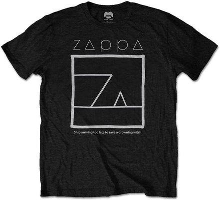 Frank Zappa Unisex Tee Drowning Witch Black S