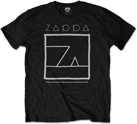 Frank Zappa Unisex Tee Drowning Witch Black XL