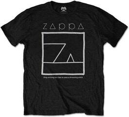Frank Zappa Unisex Tee Drowning Witch Black XXL