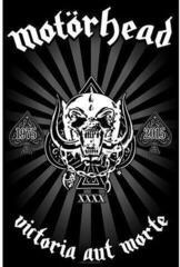 Motörhead Textile Poster Victoria aut Morte 1975 - 2015