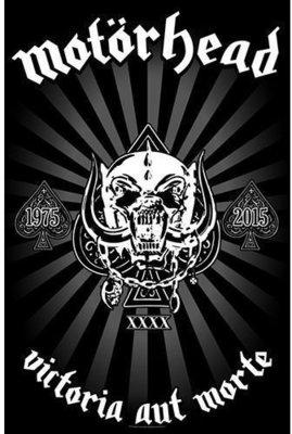 Motörhead Victoria aut Morte 1975 - 2015 Plagát