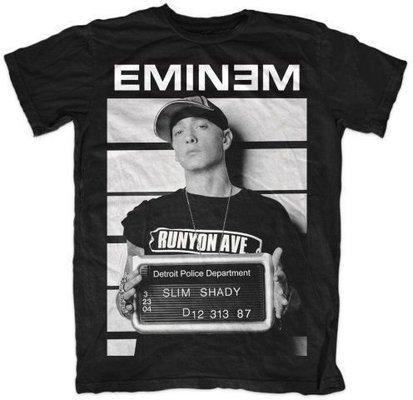 Eminem Unisex Tee Arrest L