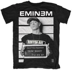 Eminem Unisex Tee Arrest Black