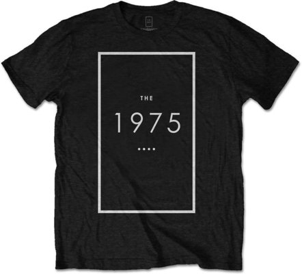 The 1975 Unisex Tee Original Logo Black S