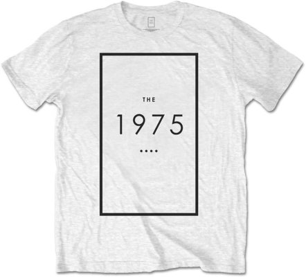 The 1975 Unisex Tee Original Logo White S