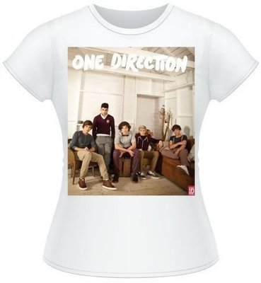 One Direction Tee Band Lounge Colour with Skinny Fitting S