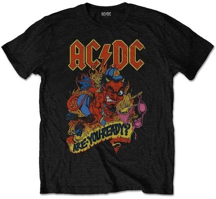 AC/DC Unisex Tee Are You Ready L