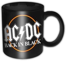 AC/DC Boxed Standard Mug Back in Black Circle