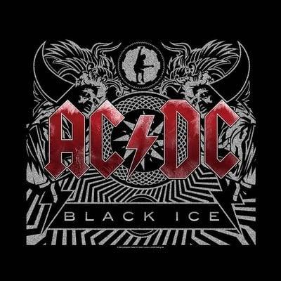 AC/DC Unisex Bandana: Black Ice