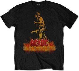 AC/DC Unisex Tee Bonfire Black