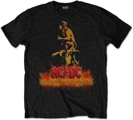 AC/DC Unisex Tee Bonfire XL