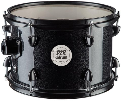 DDRUM D2R series 7x10 Tom Black Sparkle